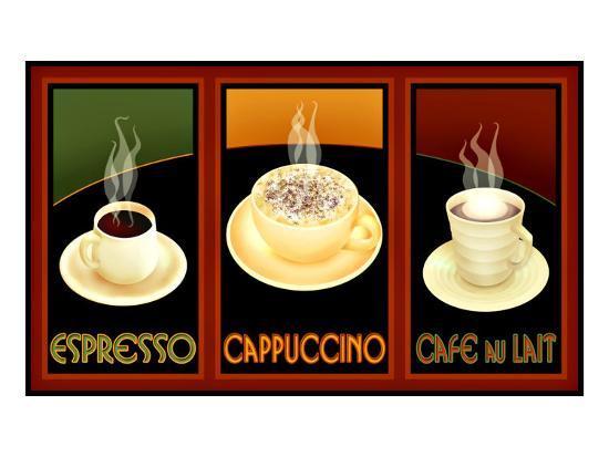 Gourmet Coffee--Giclee Print