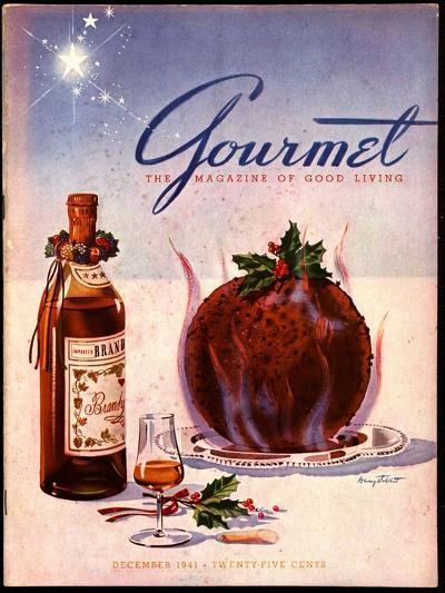 Gourmet Cover - December 1941-Henry Stahlhut-Premium Giclee Print