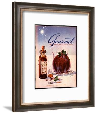 Gourmet Cover - December 1941-Henry Stahlhut-Framed Premium Giclee Print