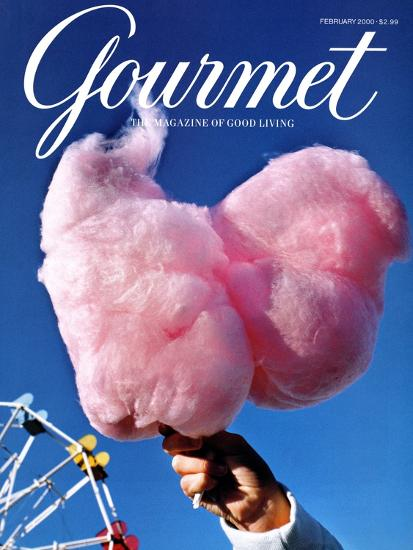 Gourmet Cover - February 2000-Kristine Larsen-Premium Giclee Print