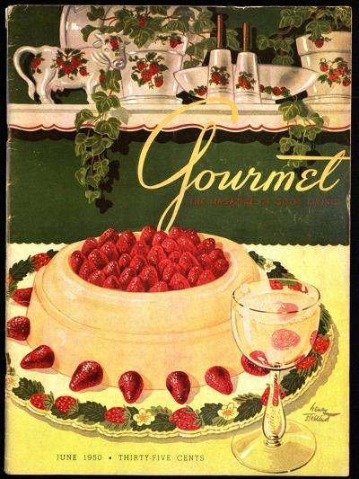 Gourmet Cover - June 1950-Henry Stahlhut-Premium Giclee Print