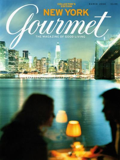 Gourmet Cover - March 2004-Andrea Fazzari-Premium Giclee Print