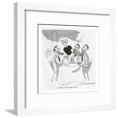 Gourmet - January, 1947-Macdonald-Framed Premium Giclee Print