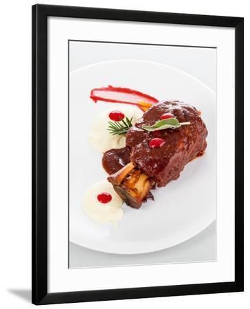 Gourmet Plate-Fabio Petroni-Framed Photographic Print