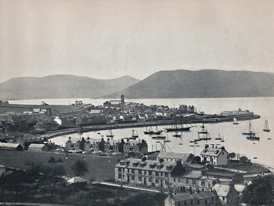 'Gourock - The Town and the Harbour', 1895-Unknown-Photographic Print