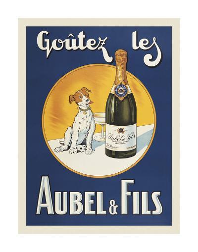 Goutez les Aubel & Fils-Vintage Posters-Art Print