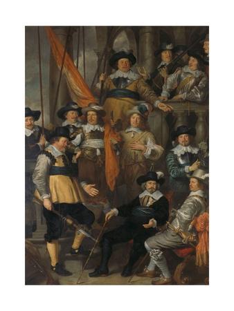 Amsterdam civic guard of District XVIII under Captain Albert Bas and Lieutenant Lucas Conijn, 1645
