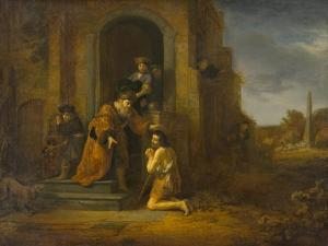 The Return of the Prodigal Son, c.1640-1642 by Govaert Flinck