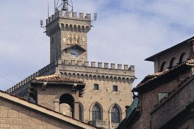 Government Building Tower or Palazzo Pubblico Tower--Giclee Print