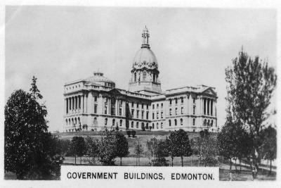 Government Buildings, Edmonton, Alberta, Canada, C1920s--Giclee Print