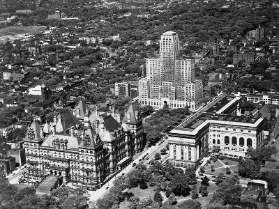 Government Buildings in Albany--Photographic Print