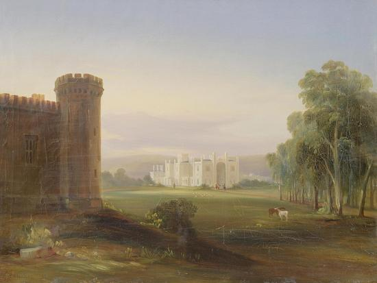 Government House and Stables, Sydney, 1841-Conrad Martens-Giclee Print