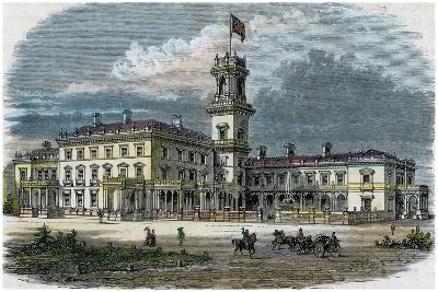 Government House, Melbourne, Victoria, Australia, C1880--Giclee Print