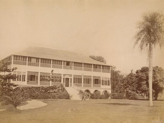 'Government House, near Kingston, Jamaica' c20th century-Unknown-Photographic Print