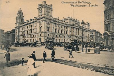 Government Offices Great George Street (Goggs), Westminster, London, C1910--Giclee Print