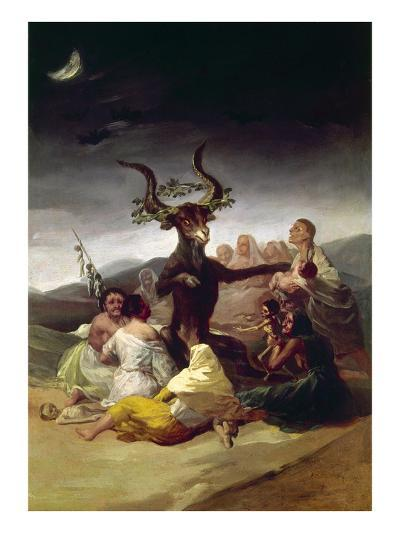 Goya: Witches Sabbath-Francisco de Goya-Giclee Print