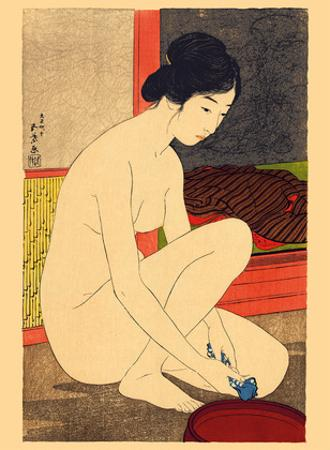 Woman after a Bath