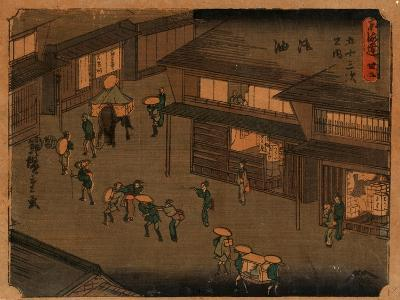 Goyu-Utagawa Hiroshige-Giclee Print