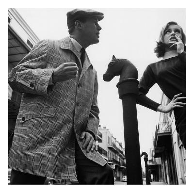 GQ - April 1963-Chadwick Hall-Premium Photographic Print