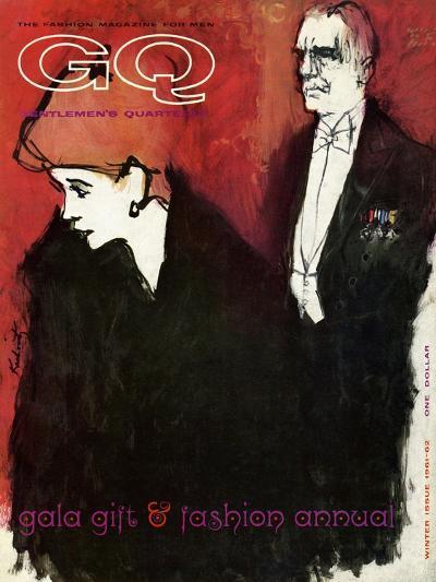 GQ Cover - December 1961-Harlan Krakovitz-Premium Giclee Print