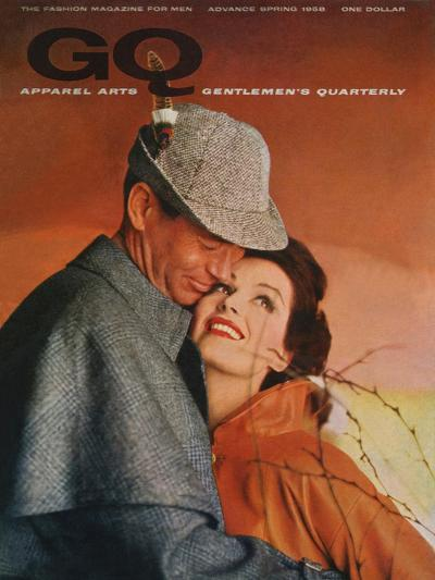 GQ Cover - January 1958-Emme Gene Hall-Premium Giclee Print