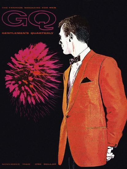 GQ Cover - November 1960-Leon Kuzmanoff-Premium Giclee Print