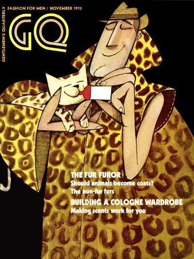 GQ Cover - November 1970-Ziraldo Alves Pinto-Premium Giclee Print