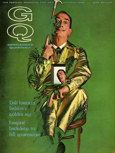 GQ Cover - October 1963-Chadwick Hall-Premium Giclee Print