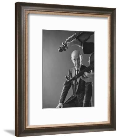 GQ - December 1967-Reid Miles-Framed Premium Photographic Print