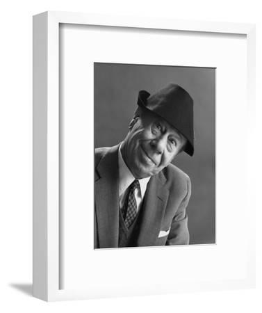 GQ - February 1963-Leonard Nones-Framed Premium Photographic Print