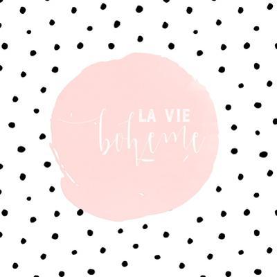 Boheme-Typography Dots Illustration Shabby