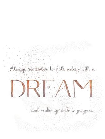 Dream Vintage Typography White 2