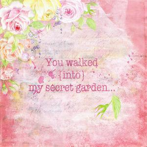 Floral Quote Vintage - Square by Grab My Art