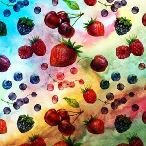 Fruits Summer Pattern by Grab My Art