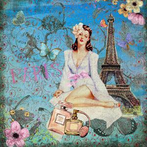 Girl In Paris by Grab My Art