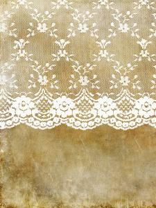 Lace Elegance Shabby Vintage by Grab My Art