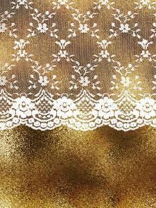 Lace Gold Eleganc 2 by Grab My Art