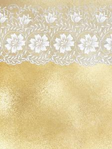 Lace Gold Elegance by Grab My Art