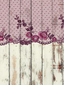 Lace Purple Boheme Elegance 3 by Grab My Art