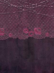 Lace Purple Boheme by Grab My Art