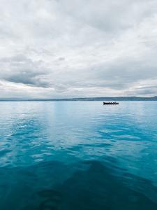 Lake Water Boat by Grab My Art