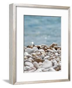 Pebbles On Beach by Grab My Art