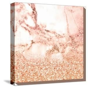 Rose Gold Glitter And Marble by Grab My Art