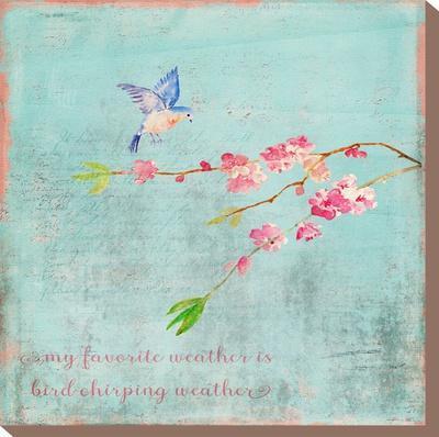 Spring Bird Sakura And Cherry Blossom by Grab My Art