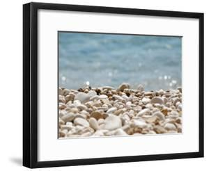 Stones Pebbles Sea Beach Sun by Grab My Art