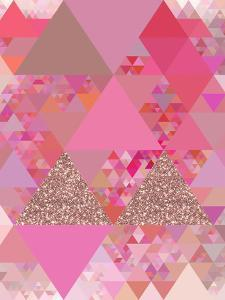 Triangles Abstract Pattern 13 by Grab My Art