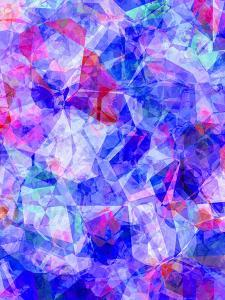 Triangles Abstract Pattern 30 by Grab My Art