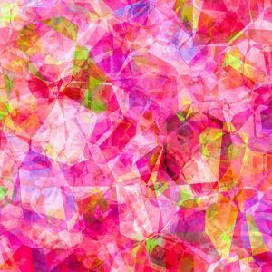 Triangles Abstract Pattern - Square 26 by Grab My Art