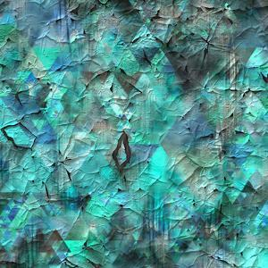 Triangles Abstract Pattern - Square 28 by Grab My Art