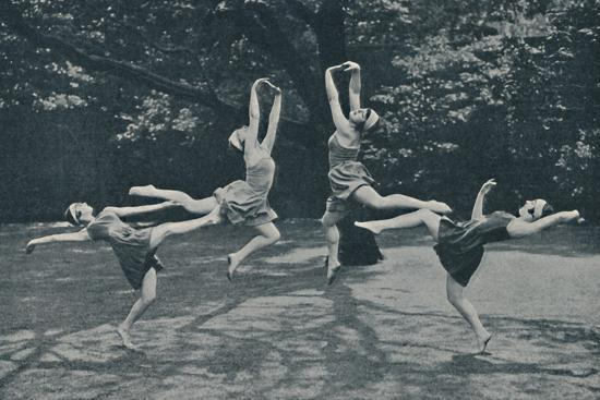 'Grace and Animation in New Classical and Russian Dancing', c1935-Unknown-Photographic Print